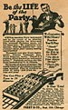 1926 US advertisement for ukulele with easy ch...