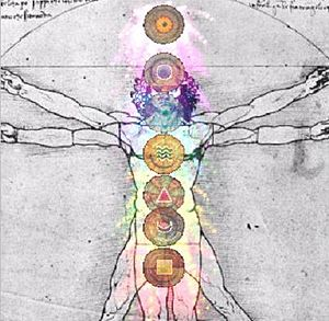 English: Chakra picture produced by AuraStar20...