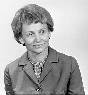 Margot Honecker - das offizielle Photo vom Juli 1967 der Deutschen Demokratischen Republik anläßlich ihres 40. Geburtstages
