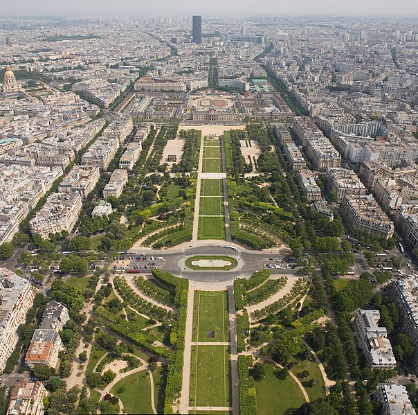 Champs de Mars, Paris, La France