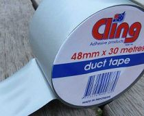 Cling duct tape