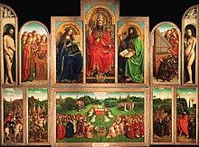Eines der berühmtesten Gemälde des Mittelalters nördlich der Alpen: der Genter Altar von Jan van Eyck