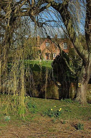 English: House in Pamington House at Pamington...