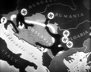 Axis order of battle for the invasion of Yugoslavia