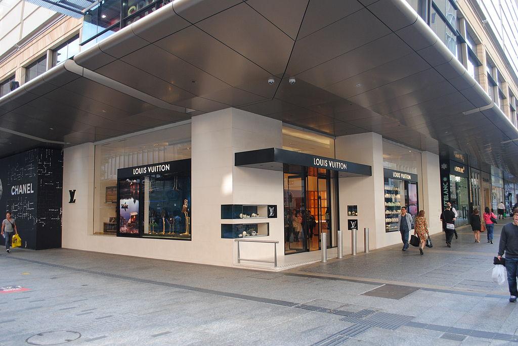 FileLouis Vuitton Store Edward Street Brisbane Cityjpg