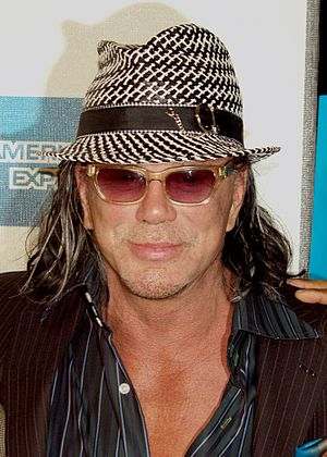 Mickey Rourke Tattoos : mickey, rourke, tattoos, Expendables, Mikes
