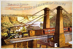 Advertisement for Great Western Railway's Niag...