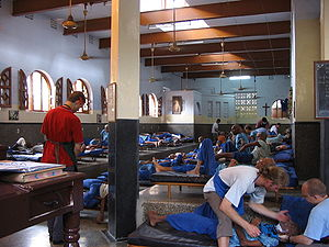 Men's ward at Mother Teresa's Home - Nirmal Hr...
