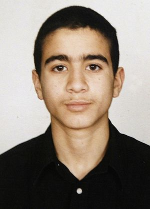 Photo of Omar Khadr, copyright released into t...