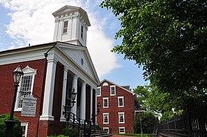 English: Presbytarian Church, Fredericksburg, ...