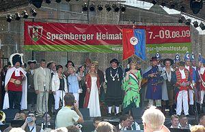 Deutsch: Eröffnung des Spremberger Heimatfest ...
