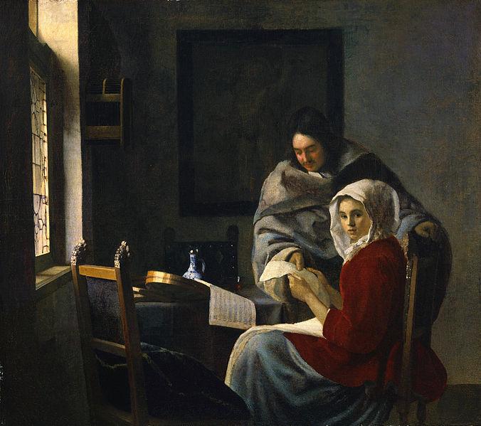 File:Vermeer Girl Interrupted at Her Music.jpg