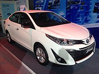 toyota yaris trd all new camry 2018 thailand wikipedia third generation sedan some asian markets from 2017 latin america and caribbean