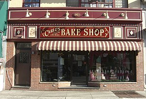 Carlo's Bake Shop, which is the setting for th...