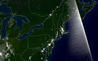 2003 Blackout Seen from Space