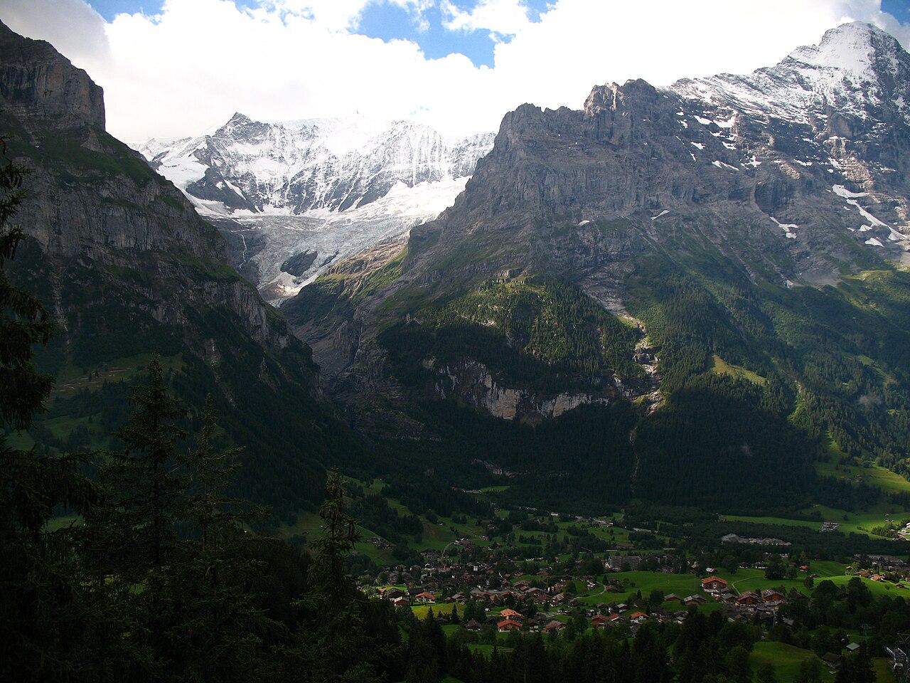 Hd Video Camera Wallpaper File 5345 Grindelwald Mettenberg Eiger Unterer