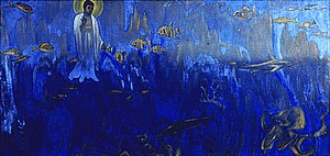 "Nicholas Roerich ""Buddha Tester"""