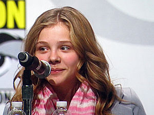 Actress Chloë Moretz participating in the Kick...