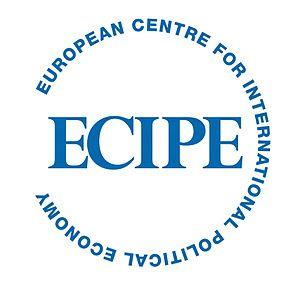 English: ECIPE logo
