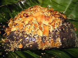 Mandalay, Myanmar htamanè glutinous rice