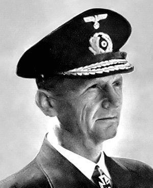 Vizeadmiral Karl Dönitz, commander of German U...