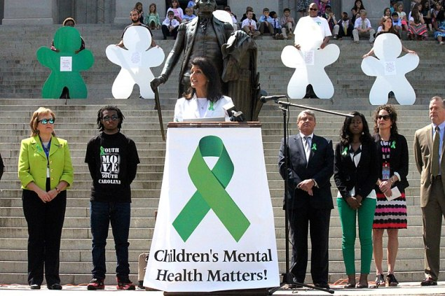 File:Nikki Haley Children's Mental Health Awareness Week Rally (26210606823).jpg