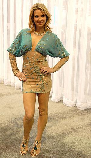 Porn star Savanna Samson at the 2010 Adult Ent...