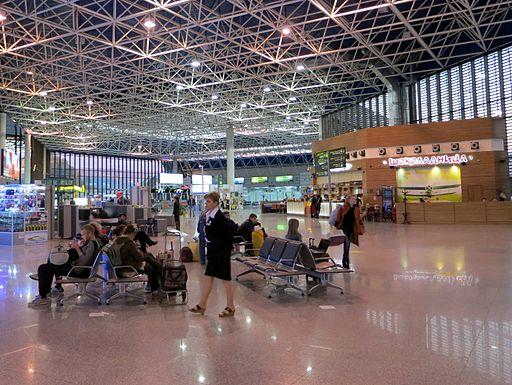 Sochi International Airport interior
