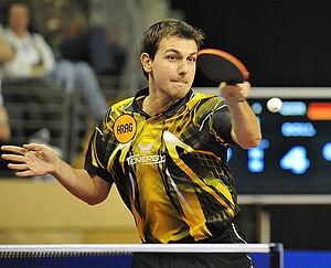 English: Timo Boll, German Table-Tennis Champion