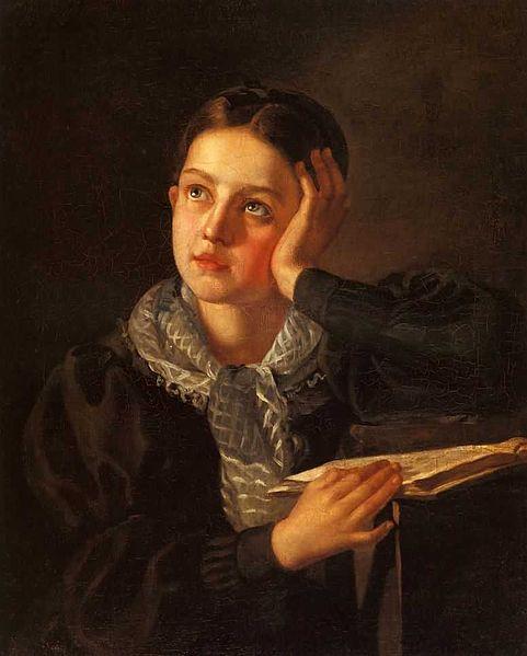 File:Alexey Tyranov. Girl with hand.jpg