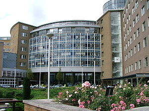 Television Centre, the main broadcasting centr...