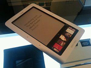 Barnes & Noble nook (ebook reader device)