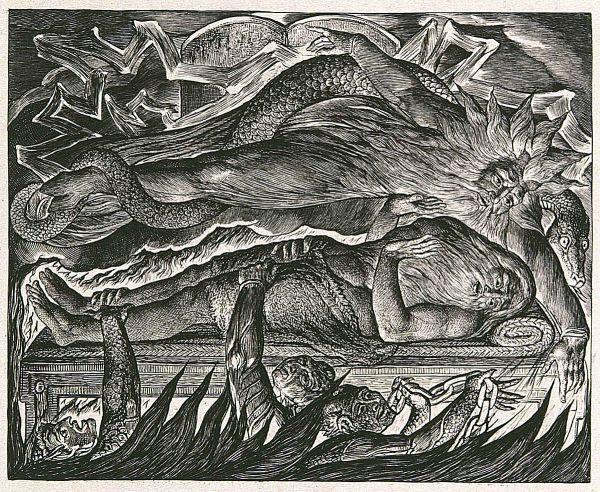 William Blake' Illustrations Of Book Job - Wikipedia