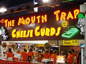 Cheese curds for sale, Minnesota State Fair, F...
