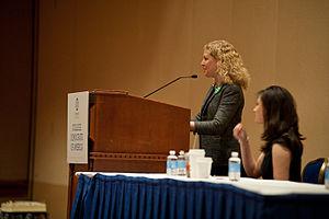 DNC Chair Rep. Debbie Wasserman Schultz speaks...