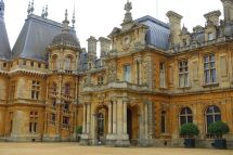File Entryway - Waddesdon Manor Buckinghamshire England