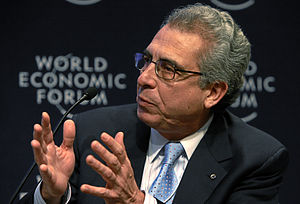 Zedillo at the World Economic Forum 2009