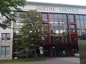 English: Goethe Institut headquarters in Munic...