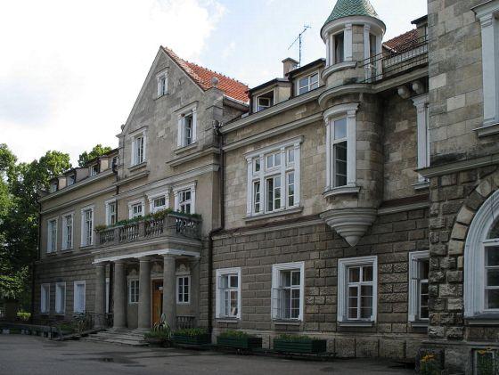 Pałac Ponińskich w Horyńcu