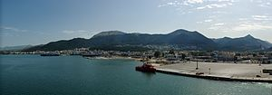 English: Panoramic view of Igoumenitsa, Greece...