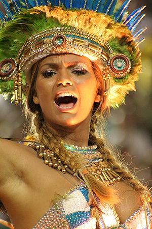 English: Carnival, Marquês de Sapucaí, in Rio ...