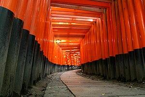 Larger version of my Kyoto Fushimi Inari Torii...