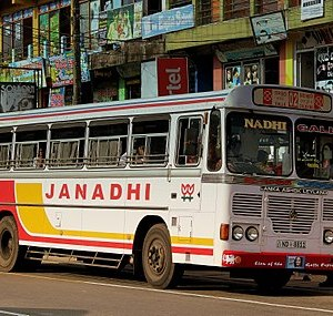 A Bus operated by a private entity (Private Bus)