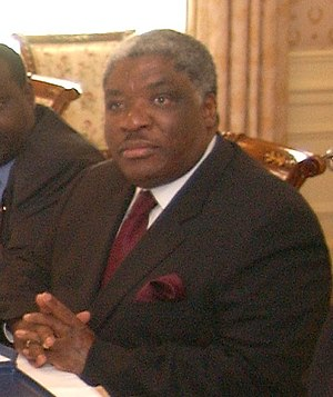 Cropped image of Levy Mwanawasa. description: ...