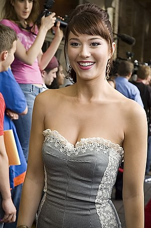 Actress Mary Elizabeth Winstead at the premier...