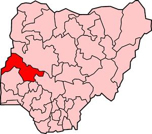 English: Kwara State in Nigeria.