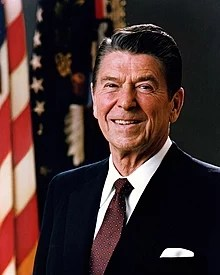 Ronald Wilson Reagan was the 40th President of the United States (1981-89)