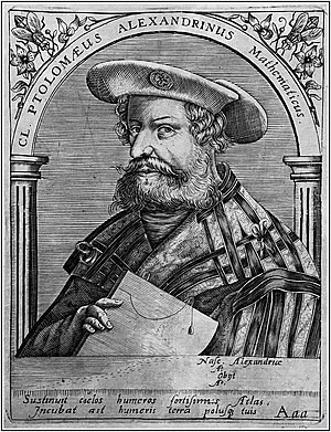 The mathematician Claudius Ptolemy 'the Alexan...