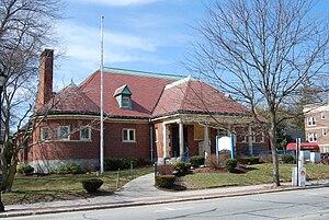 Richards Memorial Library, North Attleborough,...