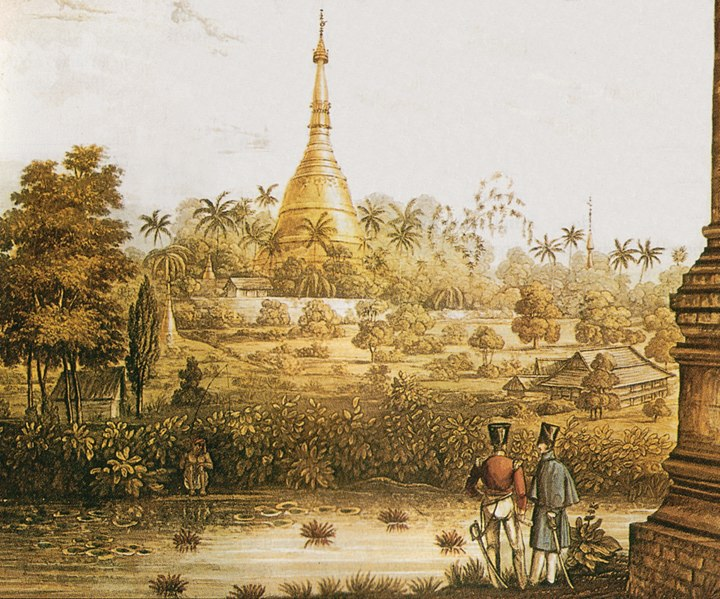 British surveying pagoda, 1825